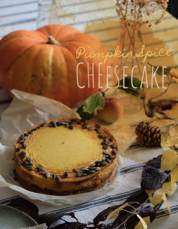 RECETTE #3: Pumpkin SpiceCheesecake